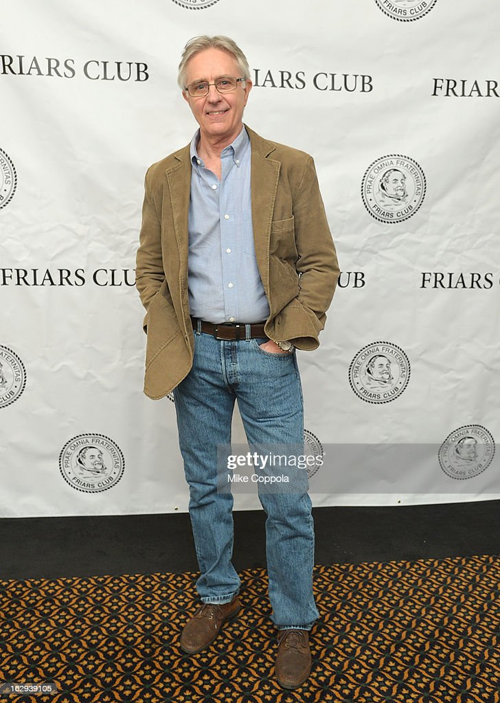 Actor John Higgins attends The Friars Club: 'So You Think You Can Roast?' Celebrating Ricky Schroder at New York Friars Club on March 1, 2013 in New York City.