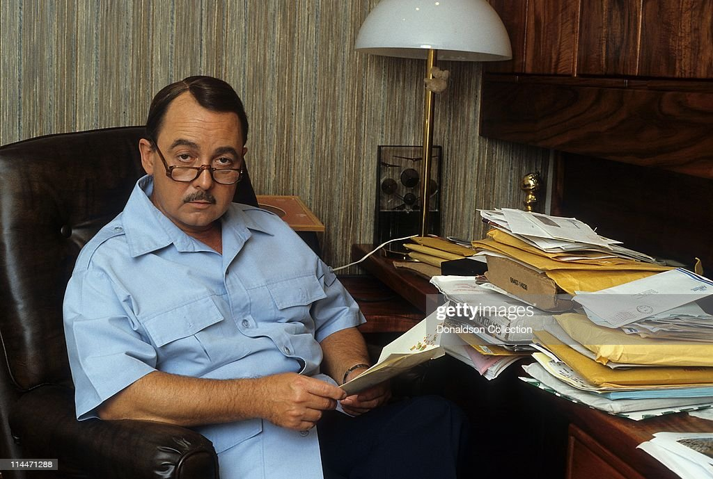 Actor John Hillerman poses for a portrait in circa 1982 in Honolulu, Hawaii.