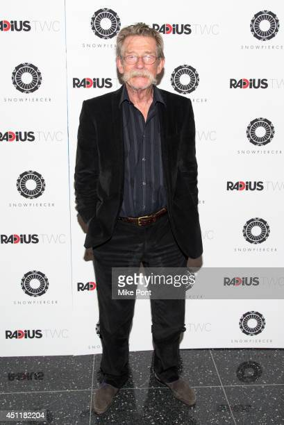Actor John Hurt attends the 'Snowpiercer' premiere at The Museum of Modern Art on June 24 2014 in New York City
