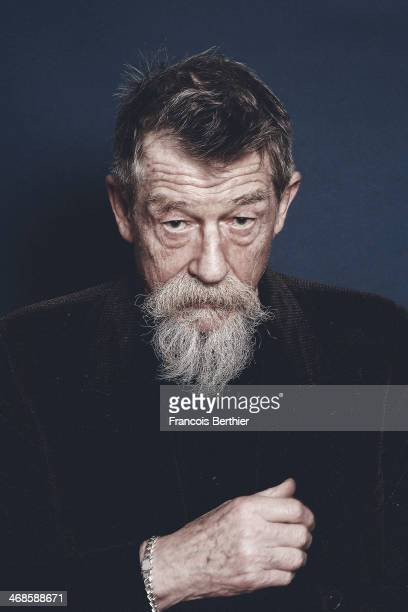 Actor John Hurt is photographed for Self Assignment on February 8 2014 in Berlin Germany