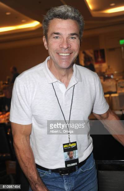Actor John J York signs autographs at The Hollywood Show held at Westin LAX Hotel on July 8 2017 in Los Angeles California
