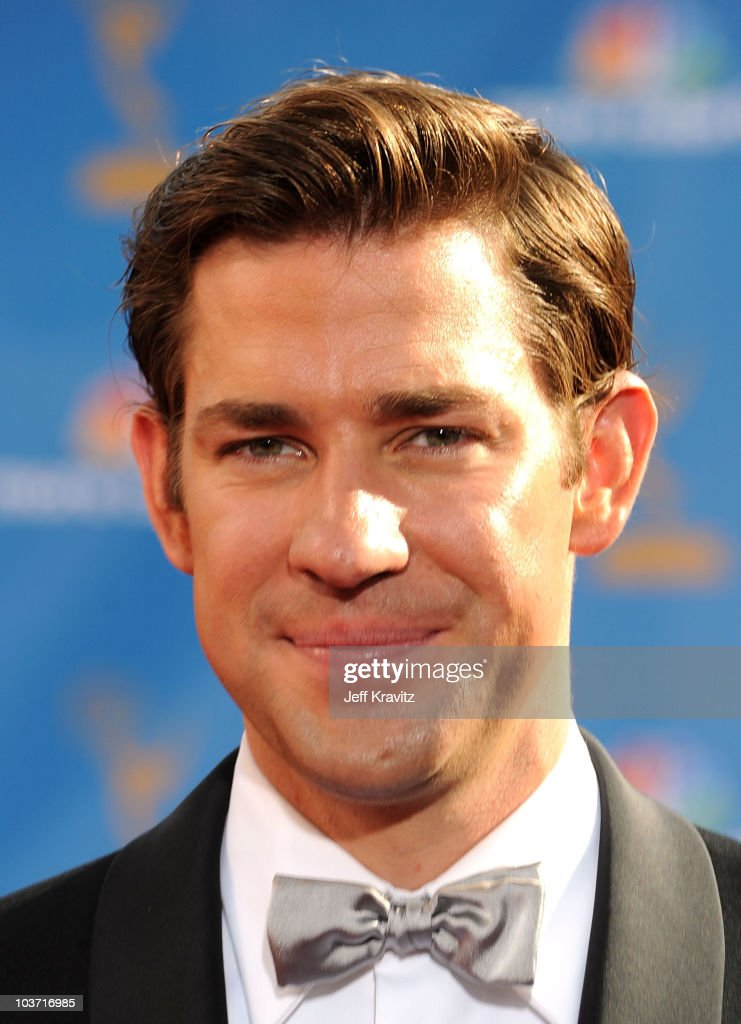 Actor John Krasinski arrives at the 62nd Annual Primetime Emmy Awards held at the Nokia Theatre L.A. Live on August 29, 2010 in Los Angeles, California.