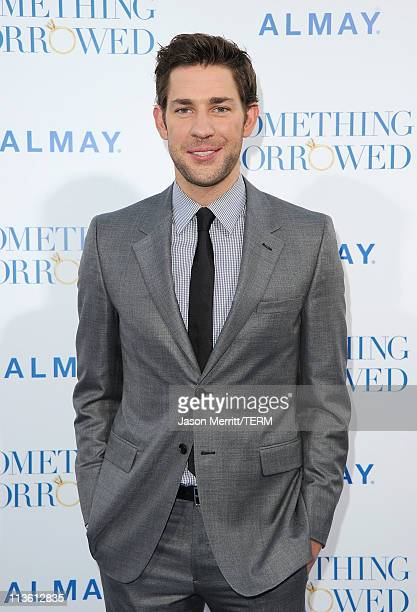 Actor John Krasinski arrives at the premiere of Warner Bros 'Something Borrowed' held at Grauman's Chinese Theatre on May 3 2011 in Hollywood...