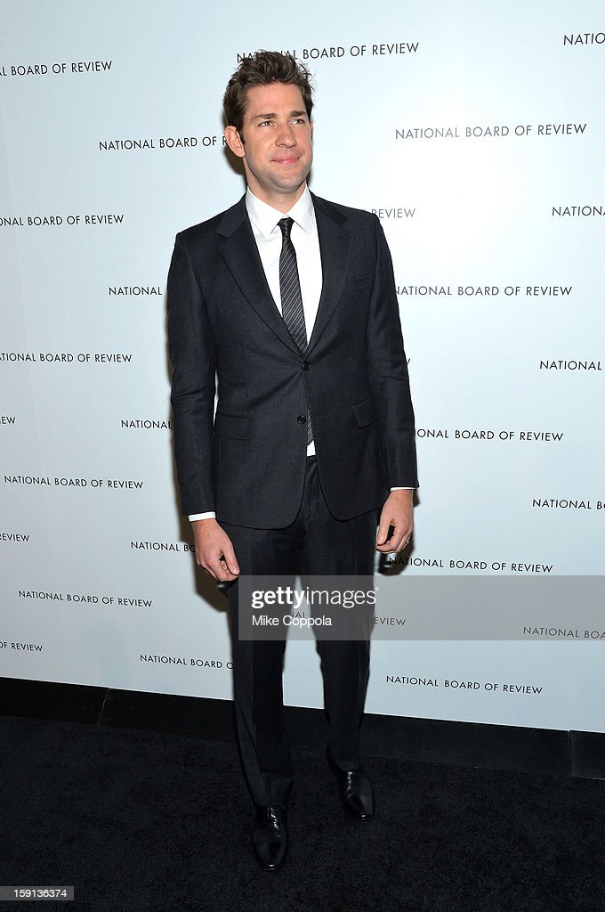 Actor John Krasinski attends the 2013 National Board Of Review Awards at Cipriani 42nd Street on January 8, 2013 in New York City.