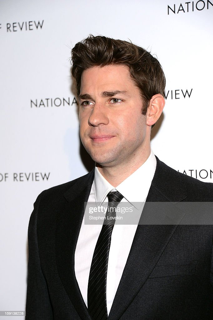 Actor John Krasinski attends the 2013 National Board Of Review Awards Gala at Cipriani 42nd Street on January 8, 2013 in New York City.