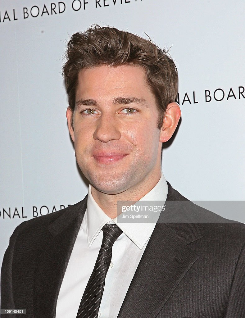 Actor John Krasinski attends the 2013 National Board Of Review Awards Gala at Cipriani Wall Street on January 8, 2013 in New York City.