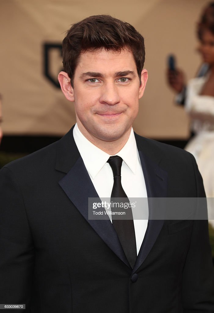Actor John Krasinski attends the 23rd Annual Screen Actors Guild Awards at The Shrine Expo Hall on January 29, 2017 in Los Angeles, California.