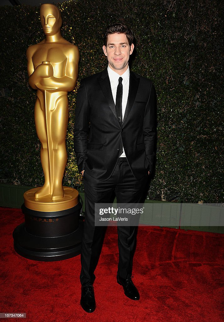 Actor John Krasinski attends the Academy of Motion Pictures Arts and Sciences' 4th annual Governors Awards at The Ray Dolby Ballroom at Hollywood & Highland Center on December 1, 2012 in Hollywood, California.