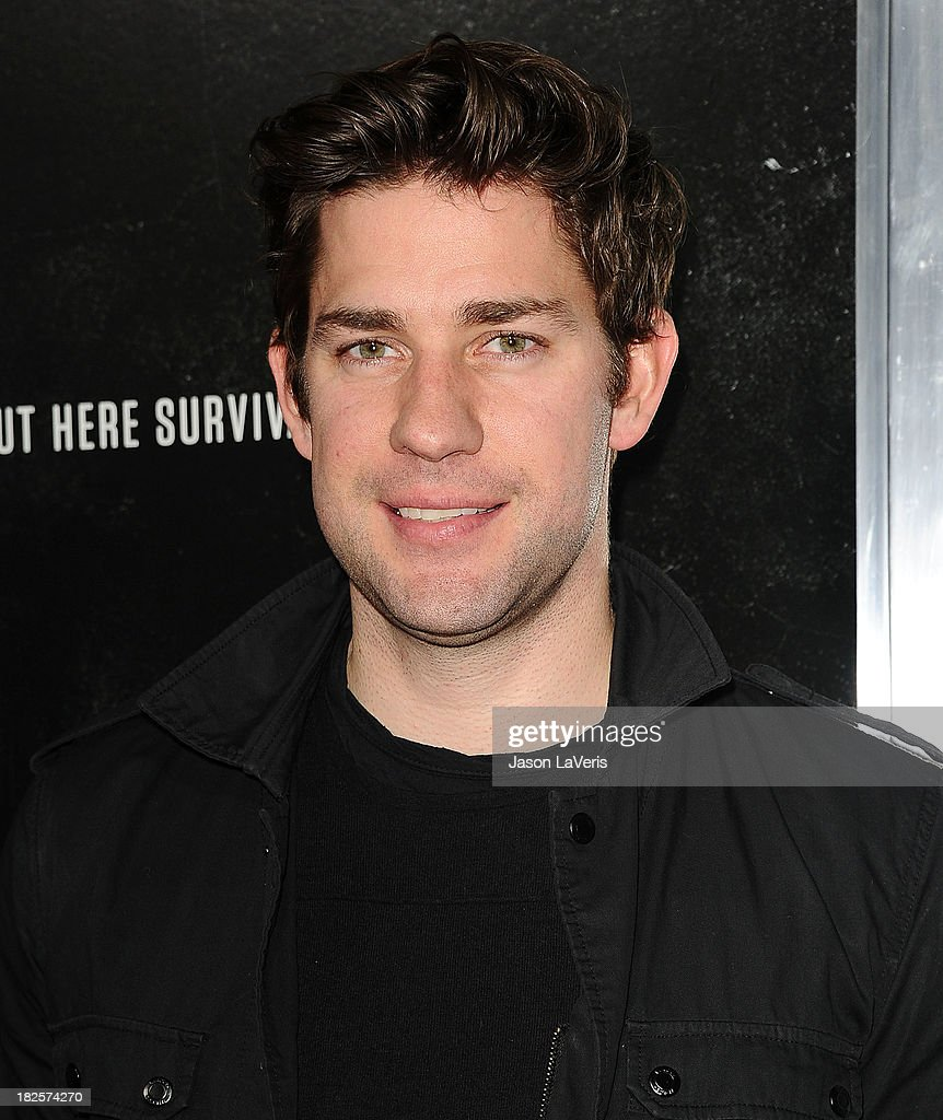 Actor John Krasinski attends the premiere of 'Captain Phillips' at the Academy of Motion Picture Arts and Sciences on September 30, 2013 in Beverly Hills, California.