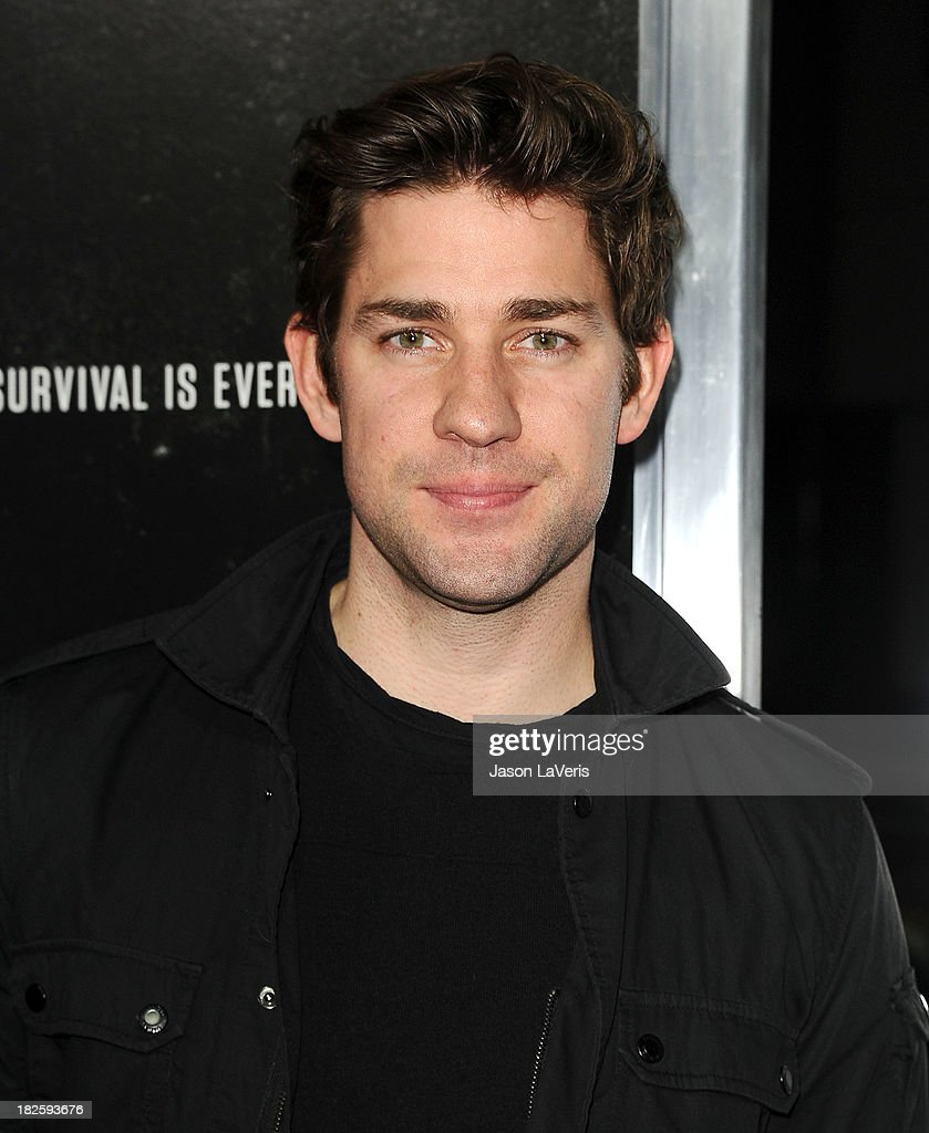 Actor <a gi-track='captionPersonalityLinkClicked' href=/galleries/search?phrase=John+Krasinski&family=editorial&specificpeople=646194 ng-click='$event.stopPropagation()'>John Krasinski</a> attends the premiere of 'Captain Phillips' at the Academy of Motion Picture Arts and Sciences on September 30, 2013 in Beverly Hills, California.