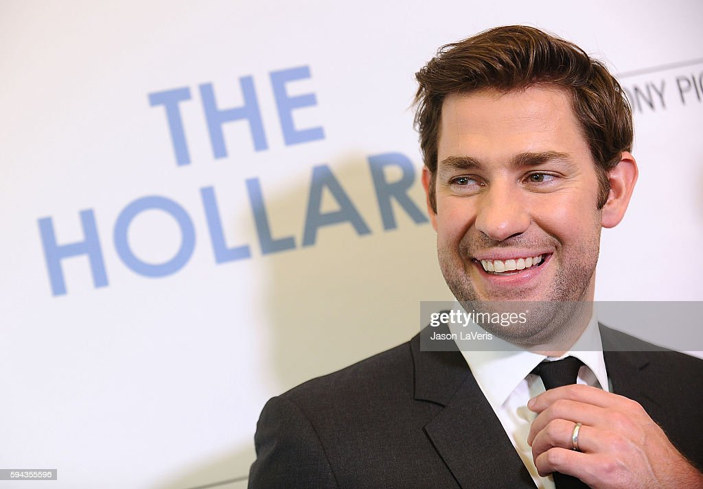 Actor John Krasinski attends the premiere of 'The Hollars' at Linwood Dunn Theater on August 22, 2016 in Los Angeles, California.