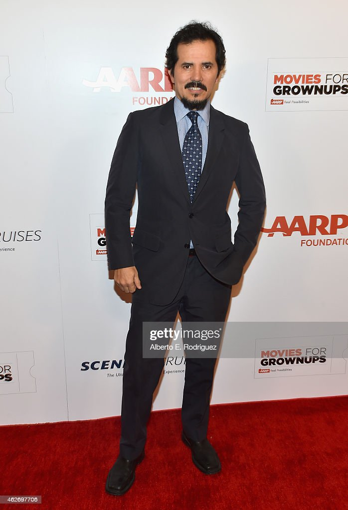 Actor <a gi-track='captionPersonalityLinkClicked' href=/galleries/search?phrase=John+Leguizamo&family=editorial&specificpeople=167163 ng-click='$event.stopPropagation()'>John Leguizamo</a> arrives to AARP The Magazine's 14th Annual Movies For Grownups Awards Gala at the Beverly Wilshire Four Seasons Hotel on February 2, 2015 in Beverly Hills, California.