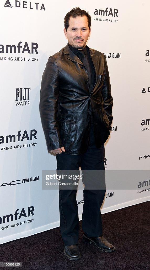 Actor John Leguizamo attends amfAR New York Gala To Kick Off Fall 2013 Fashion Week at Cipriani, Wall Street on February 6, 2013 in New York City.