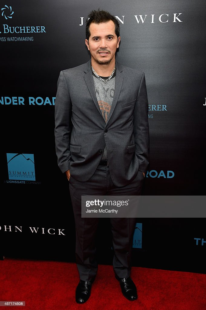 Actor <a gi-track='captionPersonalityLinkClicked' href=/galleries/search?phrase=John+Leguizamo&family=editorial&specificpeople=167163 ng-click='$event.stopPropagation()'>John Leguizamo</a> attends the 'John Wick' New York Premiere at Regal Union Square Theatre, Stadium 14 on October 13, 2014 in New York City.