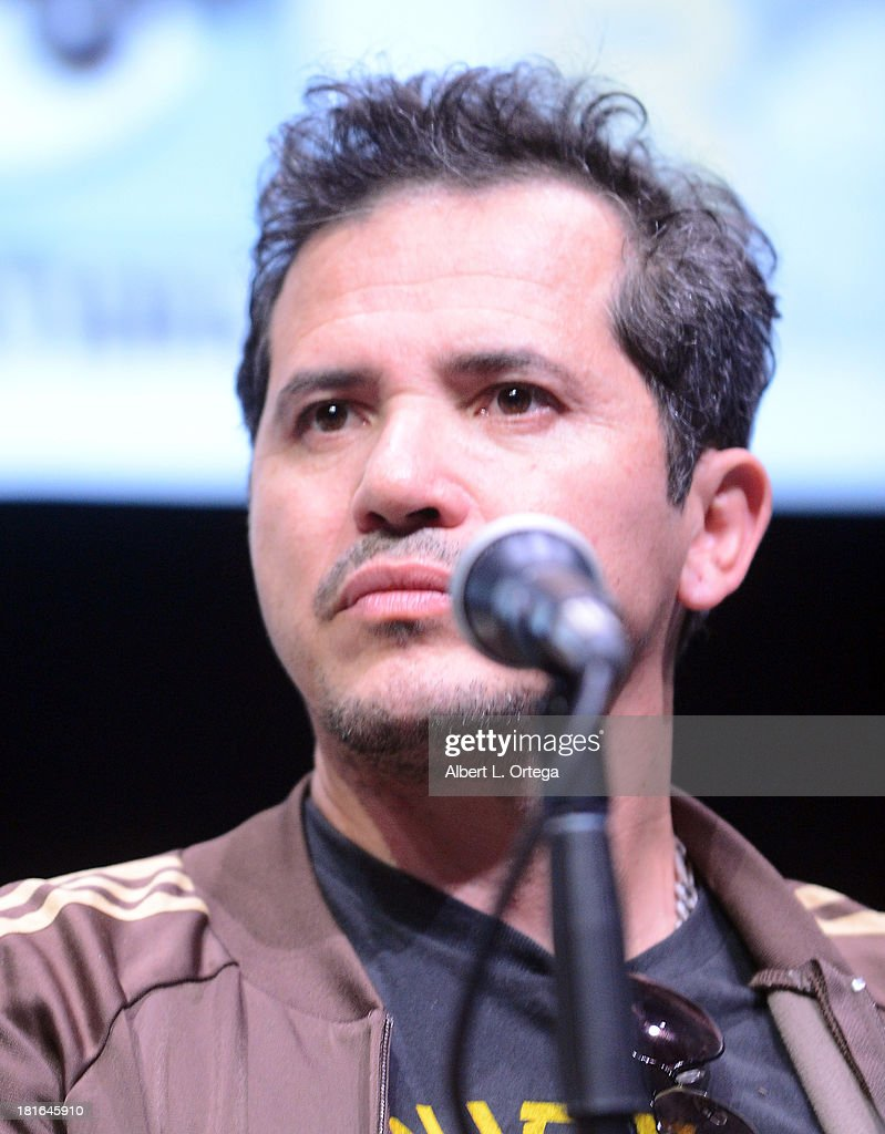 Actor <a gi-track='captionPersonalityLinkClicked' href=/galleries/search?phrase=John+Leguizamo&family=editorial&specificpeople=167163 ng-click='$event.stopPropagation()'>John Leguizamo</a> attends The Universal Pictures panel featuring 'Kick Ass 2' as part of Comic-Con International 2013 held at San Diego Convention Center on Friday July 19, 2012 in San Diego, California.