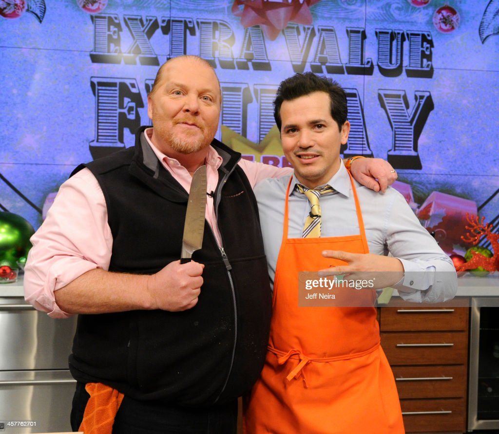 THE CHEW - Actor John Leguizamo is the guest Friday, December 20, 2013 on ABC's 'The Chew.' 'The Chew' airs MONDAY - FRIDAY (1-2pm, ET) on the ABC Television Network. LEGUIZAMO