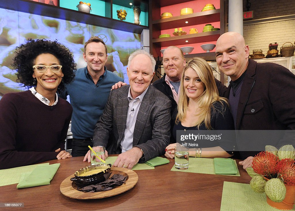 THE CHEW - Actor John Lithgow and Country music singer Brett Eldredge appear today, October 28, 2013 on ABC's 'The Chew.' 'The Chew' airs MONDAY - FRIDAY (1-2pm, ET) on the ABC Television Network. SYMON