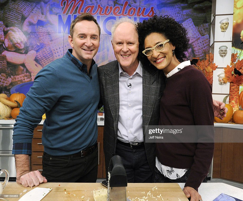 THE CHEW - Actor John Lithgow and Country music singer Brett Eldredge appear today, October 28, 2013 on ABC's 'The Chew.' 'The Chew' airs MONDAY - FRIDAY (1-2pm, ET) on the ABC Television Network. HALL
