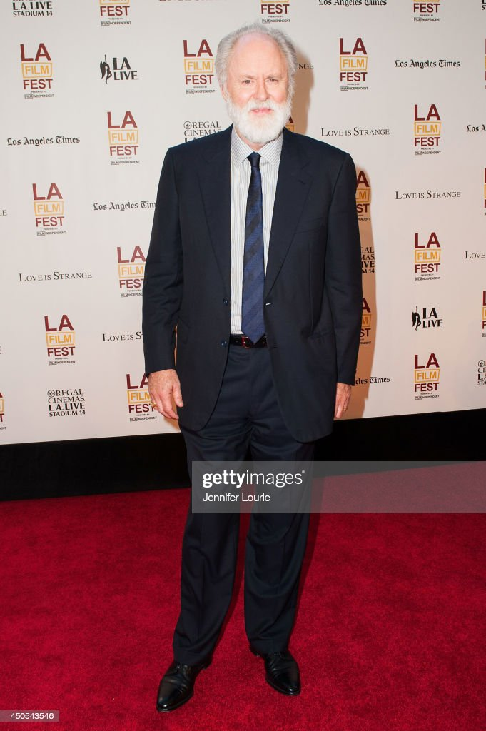 Actor John Lithgow arrives at the 2014 Los Angeles Film Festival presents 'Love Is Strange' hosted at the Bing Theatre At LACMA on June 12, 2014 in Los Angeles, California.