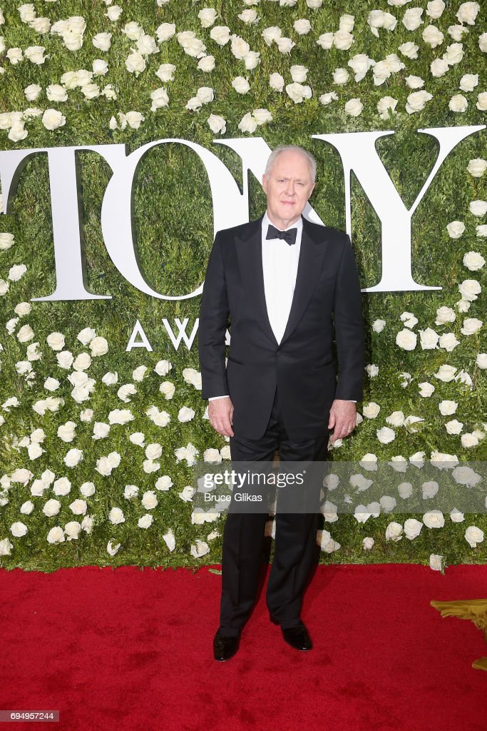 Actor John Lithgow attends the 2017 Tony Awards at Radio City Music Hall on June 11, 2017 in New York City.