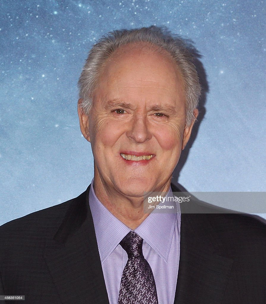 Actor John Lithgow attends the 'Interstellar' New York Premiere at AMC Lincoln Square Theater on November 3, 2014 in New York City.