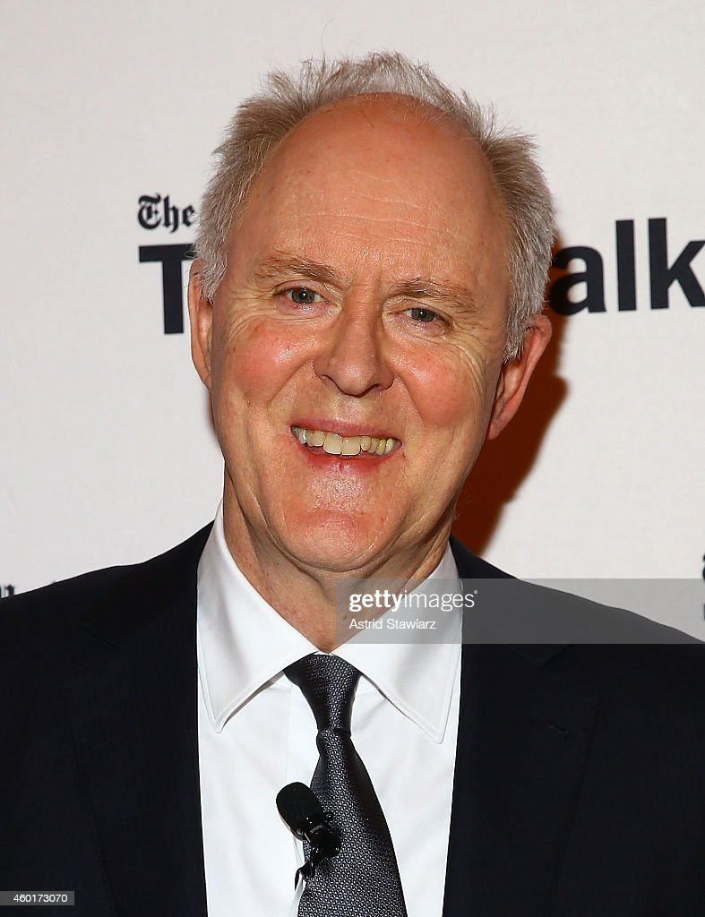 Actor John Lithgow attends TimesTalks Presents: An Evening With The Cast Of 'A Delicate Balance' at The Times Center on December 8, 2014 in New York City.