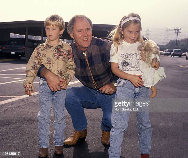 John Lithgow with his children Nathan and Phoebe
