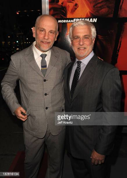 Actor John Malkovich and Summit Entertainment CoChairman/CEO Rob Friedman arrive at the Los Angeles Special Screening of 'RED' held at Grauman's...