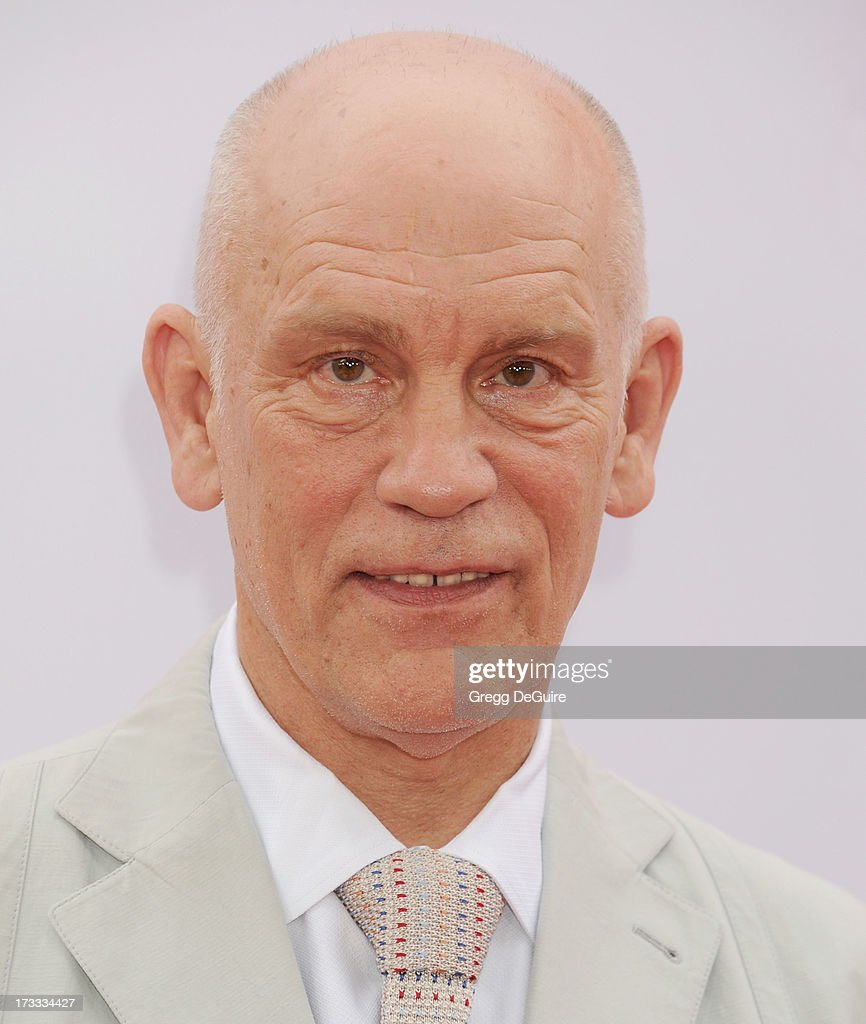 Actor John Malkovich arrives at the Los Angeles premiere of 'Red 2' at Westwood Village on July 11, 2013 in Los Angeles, California.