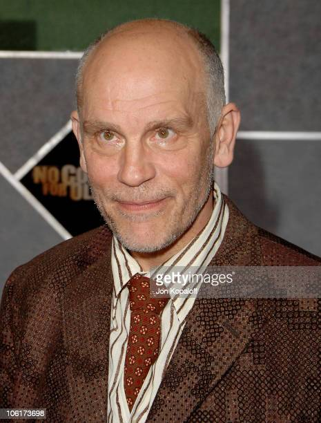 Actor John Malkovich arrives at the premiere of Miramax Films' 'No Country For Old Men' held at the El Capitan Theater on November 4 2007 in...