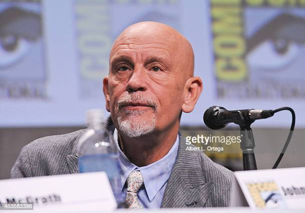 Actor John Malkovich at DreamWorks Animation Presentation of 'The Penguins of Madagascar' ComicCon International 2014 held at the San Diego...