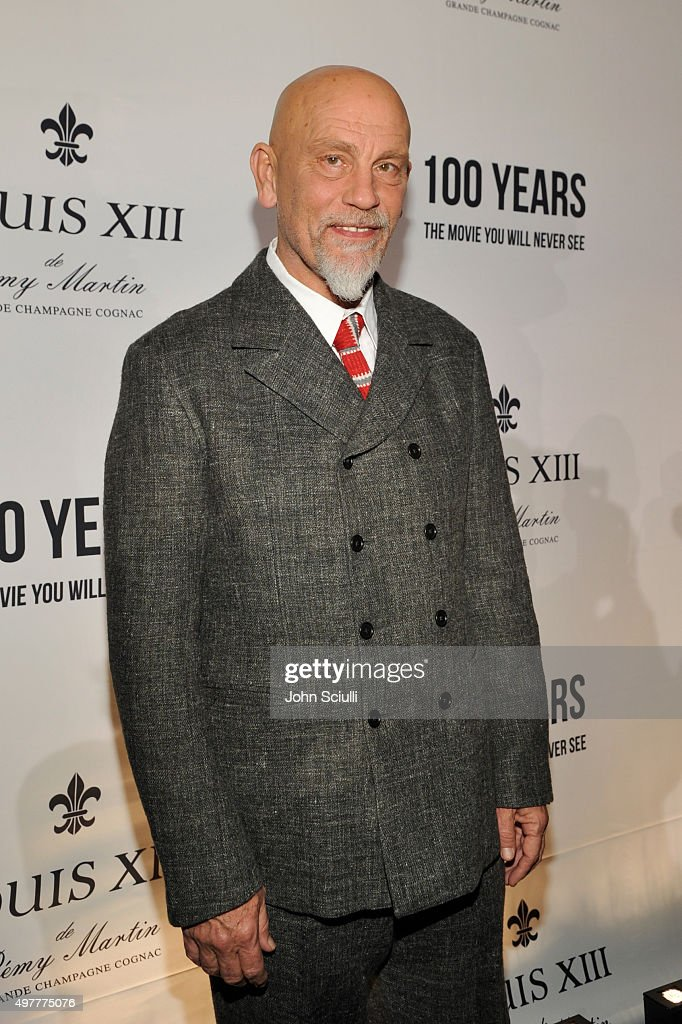 Actor <a gi-track='captionPersonalityLinkClicked' href=/galleries/search?phrase=John+Malkovich&family=editorial&specificpeople=208819 ng-click='$event.stopPropagation()'>John Malkovich</a> attends Louis XIII Celebration of '100 Years' The Movie You Will Never See, starring <a gi-track='captionPersonalityLinkClicked' href=/galleries/search?phrase=John+Malkovich&family=editorial&specificpeople=208819 ng-click='$event.stopPropagation()'>John Malkovich</a> at a private residence on November 18, 2015 in Beverly Hills, California.