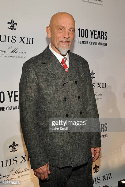 Actor John Malkovich attends Louis XIII Celebration of '100 Years' The Movie You Will Never See starring John Malkovich at a private residence on...