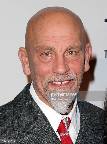 Actor John Malkovich attends LOUIS XIII toasts to '100 Years The Movie You Will Never See' at the Sheats Goldstein residence on November 18 2015 in...