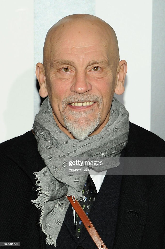 Actor <a gi-track='captionPersonalityLinkClicked' href=/galleries/search?phrase=John+Malkovich&family=editorial&specificpeople=208819 ng-click='$event.stopPropagation()'>John Malkovich</a> attends 'Penguins Of Madagascar' New York premiere at Winter Village at Bryant Park Ice Rink on November 16, 2014 in New York City.