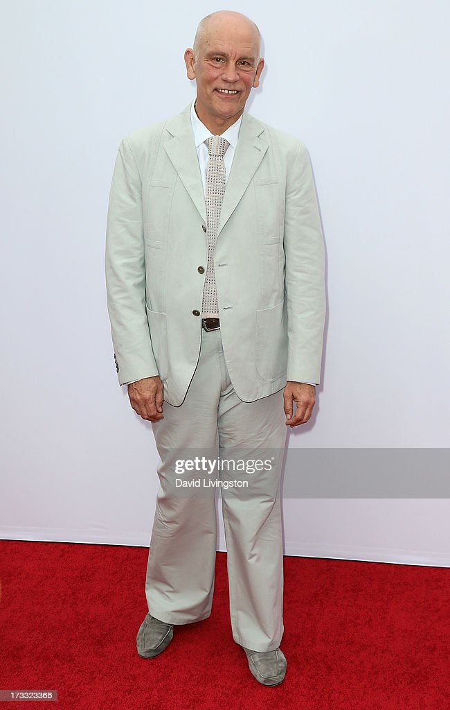 Actor <a gi-track='captionPersonalityLinkClicked' href=/galleries/search?phrase=John+Malkovich&family=editorial&specificpeople=208819 ng-click='$event.stopPropagation()'>John Malkovich</a> attends the premiere of Summit Entertainment's 'RED 2' at Westwood Village on July 11, 2013 in Los Angeles, California.
