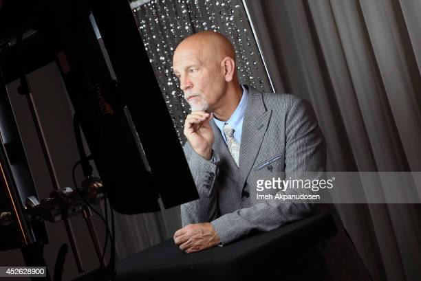 Actor John Malkovich attends the Samsung Galaxy VIP Lounge at ComicCon International 2014 at Hard Rock Hotel San Diego on July 24 2014 in San Diego...