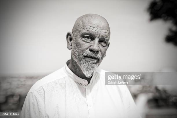 Actor John Malkovich is photographed for Self Assignment on August 23 2017 in Angouleme France