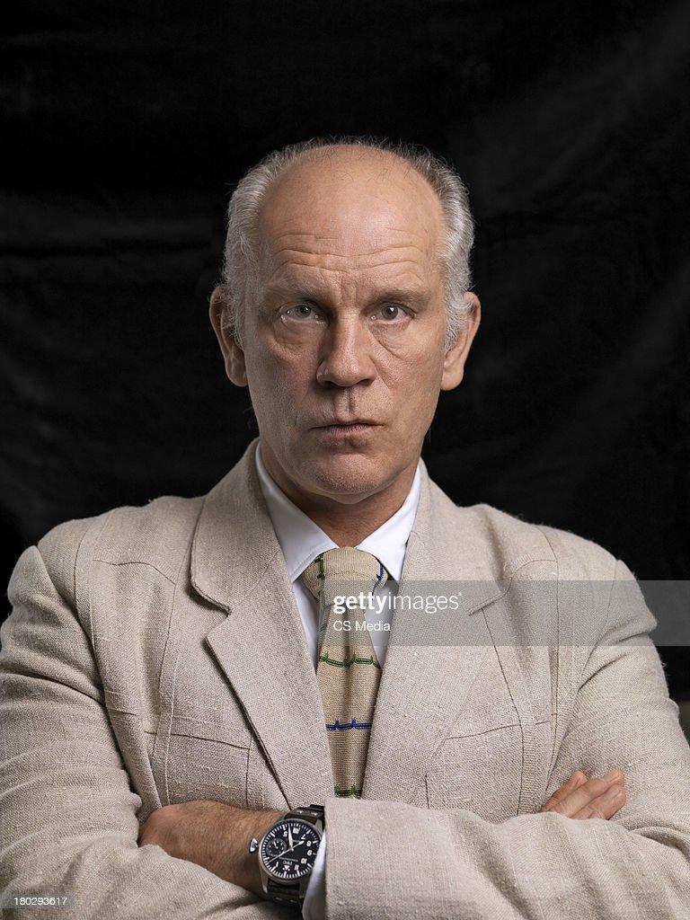 John Malkovich, Portrait shoot, September 5, 2009