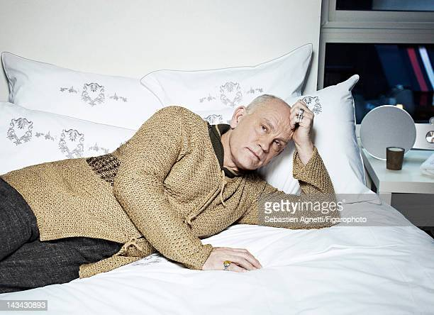 Actor John Malkovich poses for Madame Figaro on December 10 2011 in Paris France Figaro ID 102732009 All by Technobohemian by John Malkovich rings...
