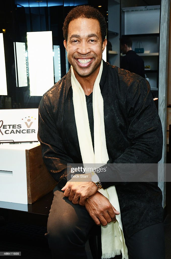 Actor John Marshall Jones attends Matt Barnes Foundation Athletes Vs. Cancer event at Versace Boutique on January 31, 2014 in Beverly Hills, California.
