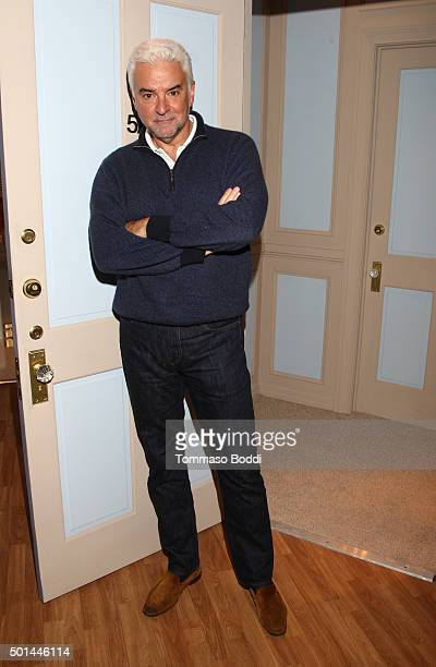Actor John O'Hurley attends Seinfeld The Apartment Fan Experience on December 15 2015 in Los Angeles California
