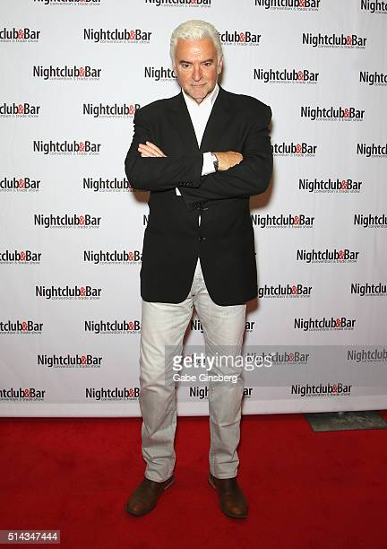 Actor John O'Hurley attends the 31st annual Nightclub Bar Convention and Trade Show on March 8 2016 in Las Vegas Nevada