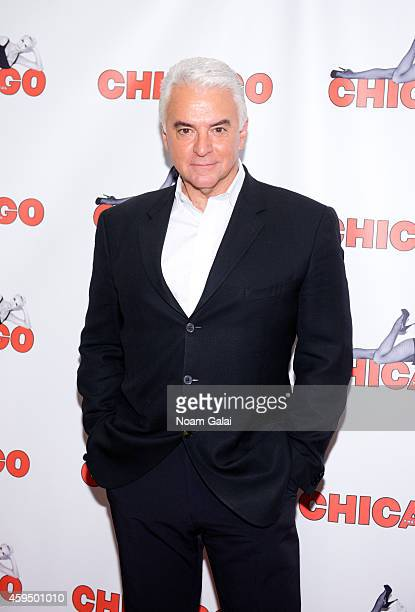 Actor John O'Hurley attends the 7486th performance of 'Chicago' the second longest running Broadway show of all time at Ambassador Theater on...