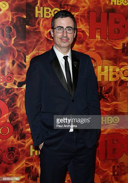 Actor John Oliver attends HBO's Official 2015 Emmy After Party at The Plaza at the Pacific Design Center on September 20 2015 in Los Angeles...