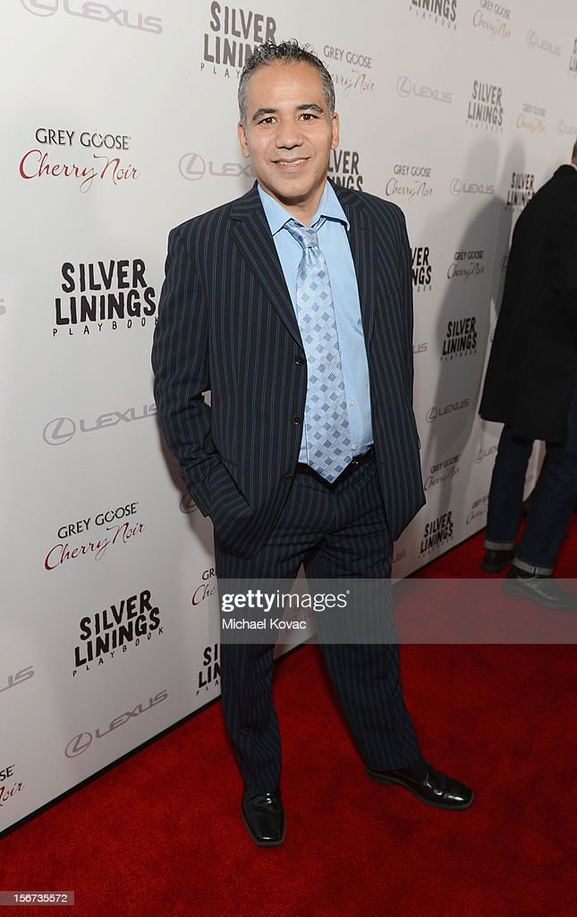 Actor <a gi-track='captionPersonalityLinkClicked' href=/galleries/search?phrase=John+Ortiz&family=editorial&specificpeople=663820 ng-click='$event.stopPropagation()'>John Ortiz</a> attends a special screening of 'Silver Linings Playbook' presented by The Weinstein Company sponsored by Grey Goose and Lexus at AMPAS Samuel Goldwyn Theater on November 19, 2012 in Beverly Hills, California.