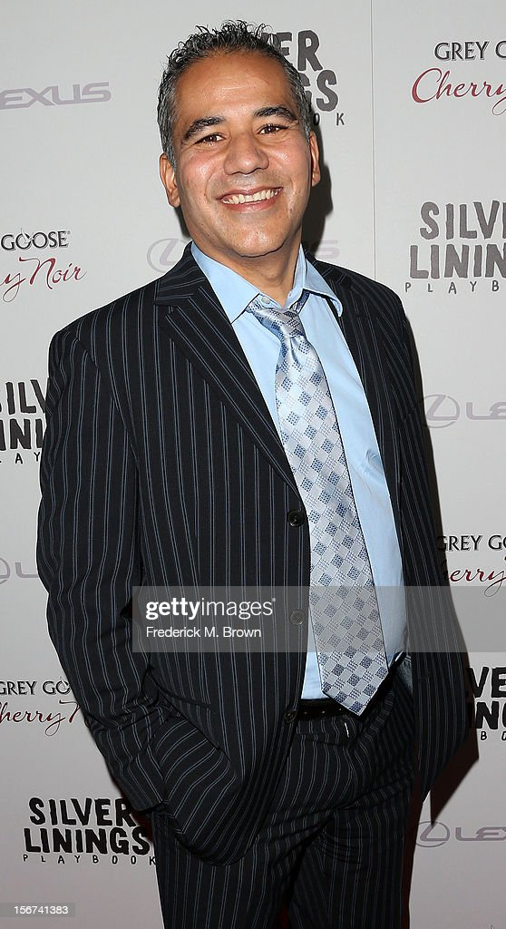 Actor John Ortiz attends the Screening Of The Weinstein Company's 'Silver Linings Playbook' at The Academy of Motion Pictures Arts and Sciences on November 19, 2012 in Beverly Hills, California.