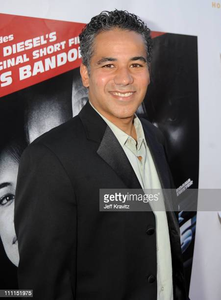 Actor John Ortiz attends Universal Studios Home Entertainment's DVD release of Fast Furious kick off with the US Premiere of Vin Diesel's original...