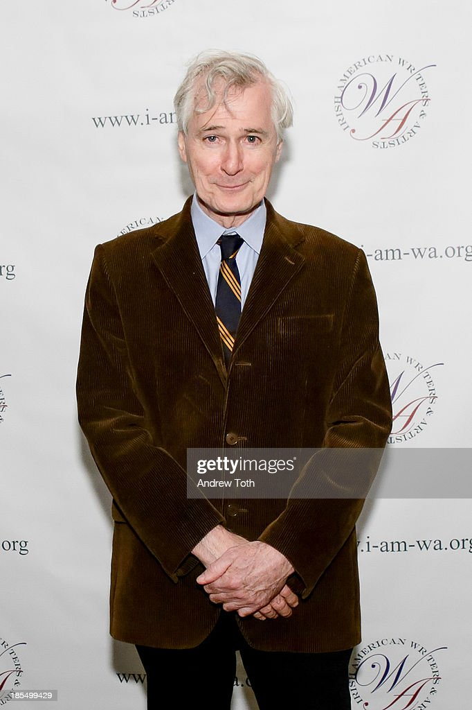Actor <a gi-track='captionPersonalityLinkClicked' href=/galleries/search?phrase=John+Patrick+Shanley&family=editorial&specificpeople=213726 ng-click='$event.stopPropagation()'>John Patrick Shanley</a> attends the 2013 Eugene O'Neill Lifetime Achievement Award gala at The Manhattan Club at Rosie O'Grady's on October 21, 2013 in New York City.