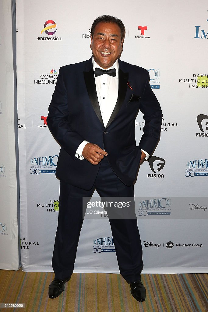 Actor John Quinones attends the 19th Annual National Hispanic Media Coalition Impact Awards Gala at Regent Beverly Wilshire Hotel on February 26 2016...